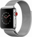 Apple Watch Series 3 (GPS + Cellular), 38mm Stainless Steel Case with Milanese Loop - Stainless Steel