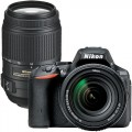Nikon D5500 DSLR Camera with 18–140mm Lens and Extra 55–300mm Telephoto Zoom Lens