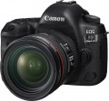 Canon - EOS 5D Mark IV DSLR Camera with 24-70mm f/4L IS USM Lens - Black